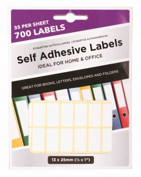 16800 Pack (24 x 700 Pack) Adhesive Labels 13 x 25mm - Wholesale Bulk Lot Deal