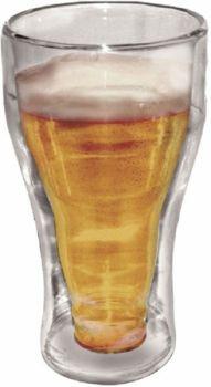22 x 1 Pack Double Wall Beer Mug 350ml - Wholesale Bulk Lot Deal