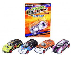 16 x DIE-CAST RACING CAR PULL BACK MECHANISM - TOY - Wholesale Bulk Lot Deal