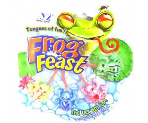 12 x FROGY FEAST 4 PACK - 4 COLOURS IN PACK - TOY - Wholesale Bulk Lot Deal