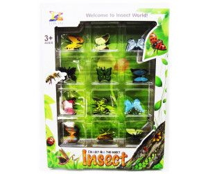 6 x 12 PACK COLLECTABLES BUTTERFLIES IN SEE THROUGH BOX - TOY - Wholesale Bulk Lot Deal