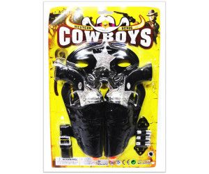 12 x COWBOYS PLAY SET WITH GUN AND ACCESSORIES - TOY - Wholesale Bulk Lot Deal