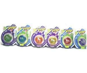 12 x Super Yoyo with light - 3 Assorted colours - TOY - Wholesale Bulk Lot Deal