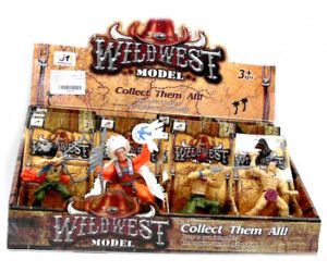 12 x Wildwest Models in display box - Assorted models - TOY - Wholesale Bulk Lot Deal