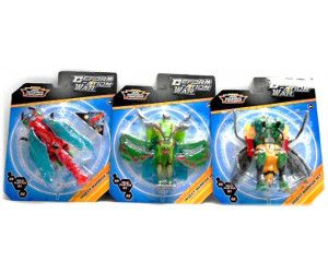 12 x INSECT WARRIORS - DEFORMATION WAR - ASSORTED DESIGNS - TOY - Wholesale Bulk Lot Deal