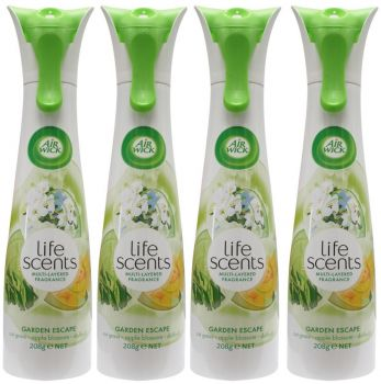 6 x Airwick 208g Life Scents Air Freshener - Garden Escape - Wholesale Deals Bulk lot - Save more