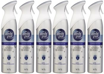 6 x Ambi Pur 275g Air Freshener Air Effects Allergen Reducer Gentle - Wholesale Deals Bulk lot - Save more