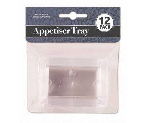288 Pack (24 x 12 Pack) APPETISER RECTANGLE TRAY MINI - Wholesale Bulk Lot Deals