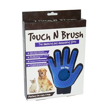 12 x TOUCH N BRUSH MAGIC PET CARE BRUSH - The amazing pet deshedding glove! - Wholesale Bulk Lot Deal